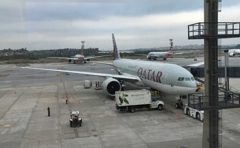 Qatar launch new Dreamliner service from Dublin to Doha. Let the farewarbegin!