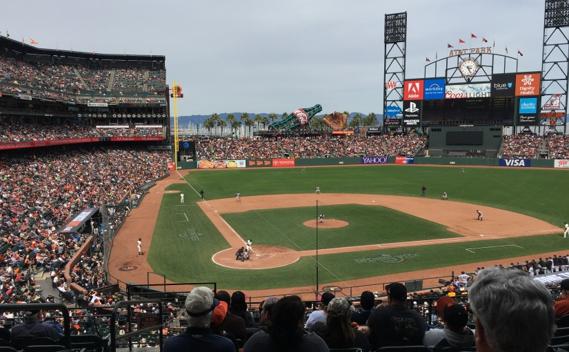 Get a free Alaska Airlines companion ticket for watching the San Francisco Giants this Sunday
