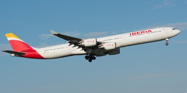 International Business Class between London and Madrid using just 6,400 Avios.