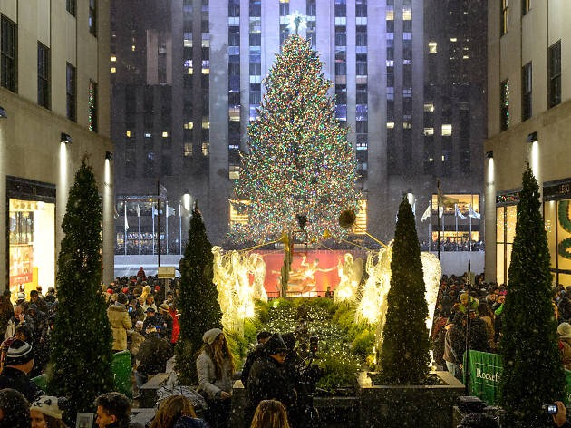 Christmas in New York: Swiss Airlines London – NYC£300